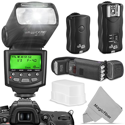 Altura Photo Professional Flash Kit for Canon DSLR with E-TTL Flash AP-C1001