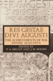 Res Gestae Divi Augusti by Augustus front cover