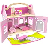 Serra Baby Wooden Princess Dream House Furnished