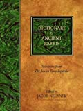 Dictionary of Ancient Rabbis, , 1565639324