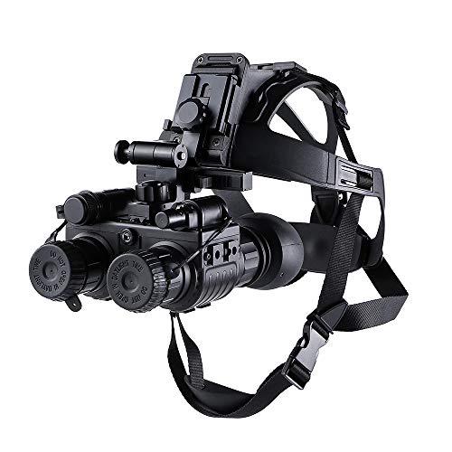 WOTR Head Mount Night Vision Binocular, Second-Generation Low-Light Digital Infrared Hunting Head-Mounted Night Vision Device, Wildlife Hunting