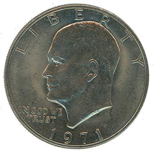 1971 Dollar Eisenhower - 1971 P Eisenhower Ike Dollar $1 BU