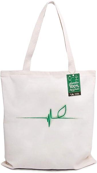 Ecobag 100% Algodão Reciclado Pulsação