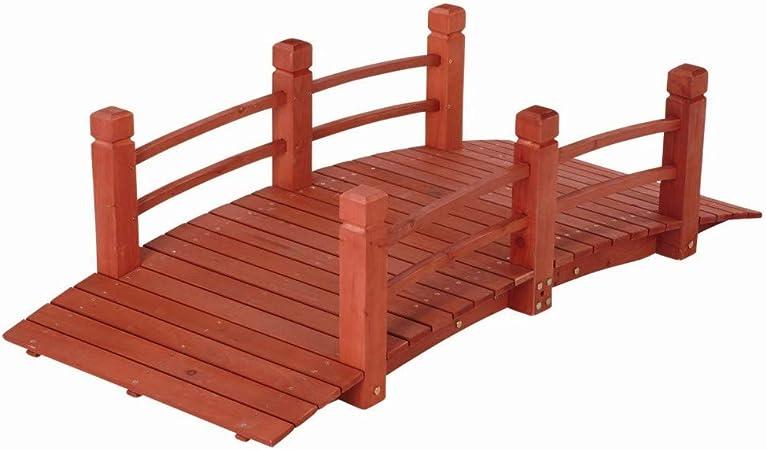 5 pies (59 Pulgadas) de Madera para Puente de jardín/jardín ...