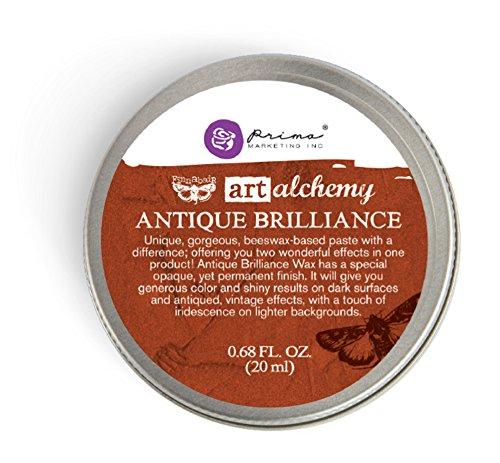 Prima Marketing Art Alchemy-Antique Brilliance-Red Amber