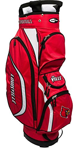 Team Golf NCAA Clubhouse Cart Bag, Louisville by Team Golf