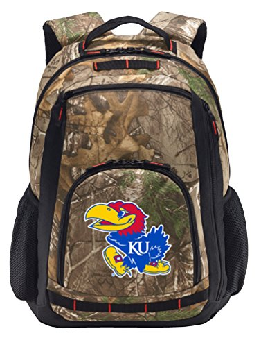 Broad Bay Cotton University of Kansas Camo Backpack REALT...
