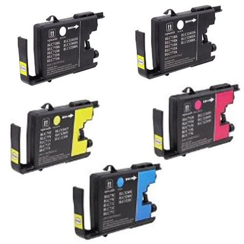 Amsahr LC75 Compatible Replacement Brother Ink Cartridges...