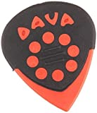 Dava Jazz Grips Pick 6-Pack 9024 Red
