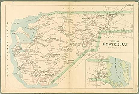 Amazon.com: Historic 1891 Map | Plate 32: Town of Oyster Bay ... on queens district map, queens metro map, queens regional map, queens section map, queens towns map, queens neighborhoods, queens zip map, queens college map, summerside map, northern queens map, queens water map, whitestone map, queens city, queens community map, queens place map, queens street map, queens medical map, queens precinct map, queens hospital map, queens zoning map,