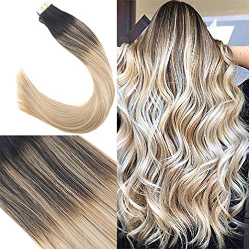 Youngsee 20inch Balayage Tape in Human Hair