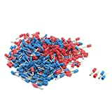 Aexit 16 AWG Wire E1508 Blue Red Pre Insulating Ferrules Terminals 380 Pcs