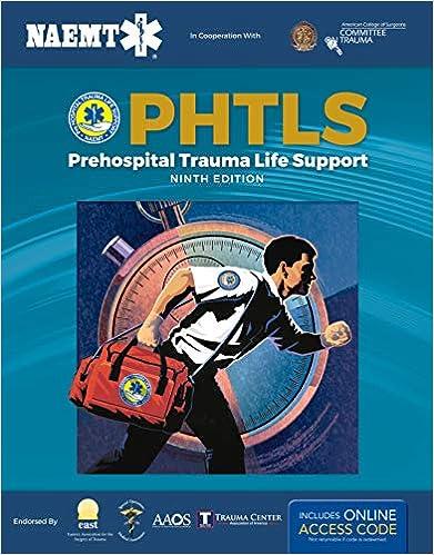 PHTLS: Prehospital Trauma Life Support, 9th Edition - Original PDF