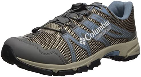 Columbia Women s Mountain Masochist IV Trail Running Shoe, Ancient Fossil, Dark Mirage, 10 B US