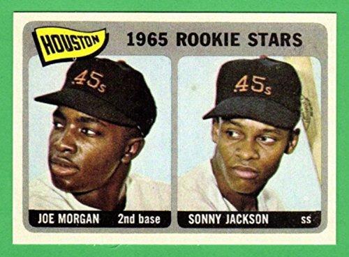 Joe Morgan 1965 Topps Baseball Rookie Reprint Card (Astros) (Reds) (Colt 45's) ()