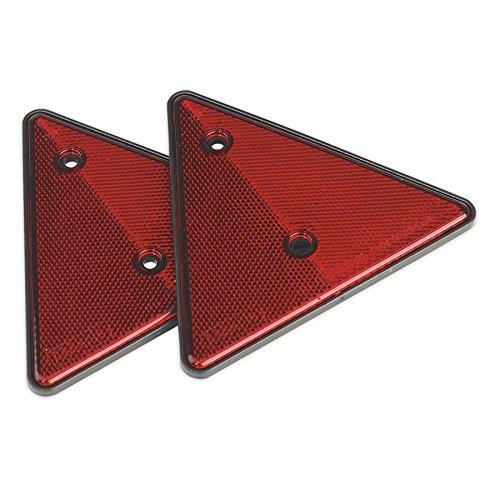 set di 2 Sealey TB17/posteriore riflettente triangolo rosso