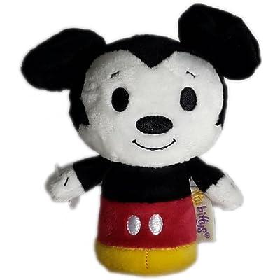 Hallmark Plush KID3170 Disney Mickey Itty Bitty Plush: Toys & Games
