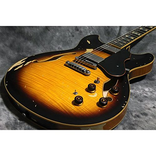 Ibanez/ASV100FMD Yellow Sunburst Low Gloss B07F3P91S2