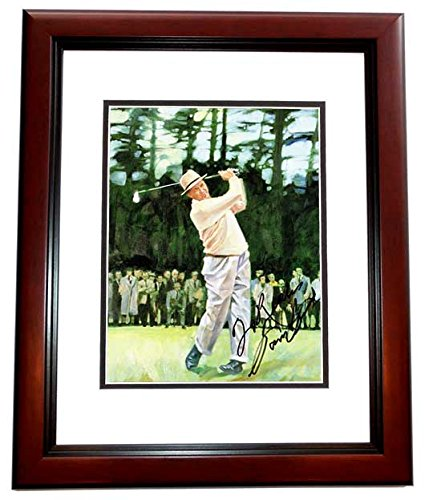 (Sam Snead Signed - Autographed Golf Legend 8x10 inch Photo with TO RICK Personalization - CUSTOM MAHOGANY FRAME)