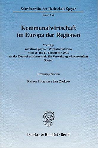 Download Kommunalwirtschaft im Europa der Regionen. pdf epub
