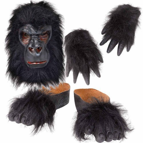 fancy dress gorilla feet - 3