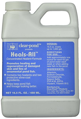 Clear Pond Heals-All Fish Medication, 16-1/2-Ounce by Clear Pond (Image #4)