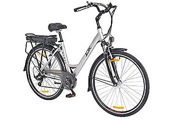 LLOBE - Bicicleta eléctrica de Estilo Urbano (71,12 cm, 49 cm): Amazon.es: Deportes y aire libre