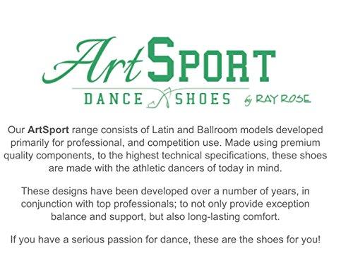 Ray Rose 146 Chaussures De Danse Dames Lisse Chaussures (taille Uk 2/2 Pouces Talon Évasé)