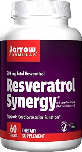 Jarrow Formulas Resveratrol Cardiovascular Easy Solv