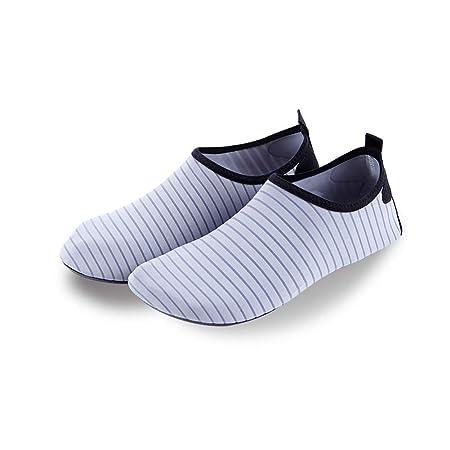 HS-MANWEI Zapatos De Agua De Secado Rápido para Hombres ...