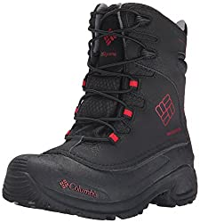 Columbia Youth Buga Plus I Oh Winter Boot (Little Kidbig Kid), Blackrocket, 6 M Us Big Kid