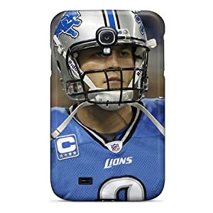 Hard Plastic Galaxy S4 Case Back Cover,hot Matthew Stafford Detroit Lions Player Case At Perfect Diy