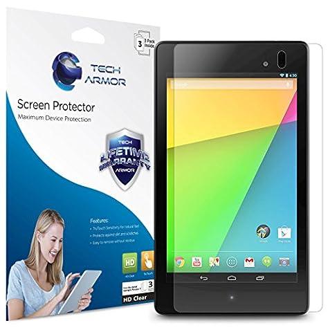 Nexus 7 FHD Screen Protector, Tech Armor High Definition HD-Clear Google Nexus 7 FHD (2013) Film Screen Protector (1 Gen Nexus 7 Case)