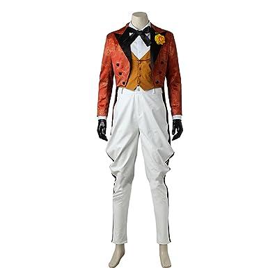 <b>Amazon</b>.com: Adult Jerome Valeska <b>Cosplay Joker Costume</b> Uniform ...