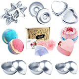 Loves Bath Bomb Mold - 43pcs Including Bath Bomb Molds/Heat Shrink Bags/Shredded Paper for Wrapping, for Homemade Bath Bombs (43PCS)