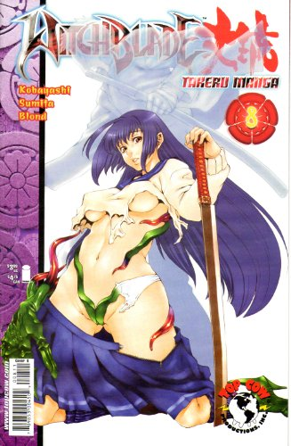 Witchblade Takeru Manga #8 Cover A
