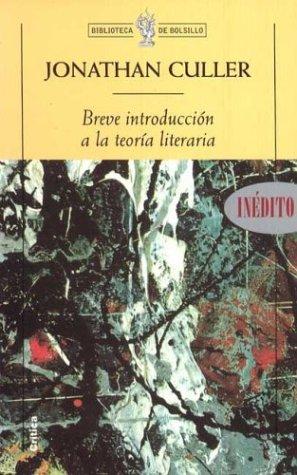 Breve Introduccion a la Teoria Literaria
