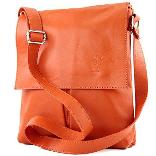 Del Las Bolso Modamoda T75 De Del Ital Señoras Bolso Mensajero Messenger Orange2 Bag Ladies Shoulder Fashionfashion Cuero Grande De Hombro Large Ital Orange2 Handbag Leather T75 De vwpvX