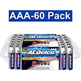 ACDelco AAA Super Alkaline Batteries in Recloseable Package, 60 Count