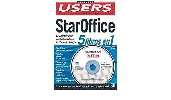 Amazon.com: StarOffice - 5 Libros en 1: Manuales Users, en ...