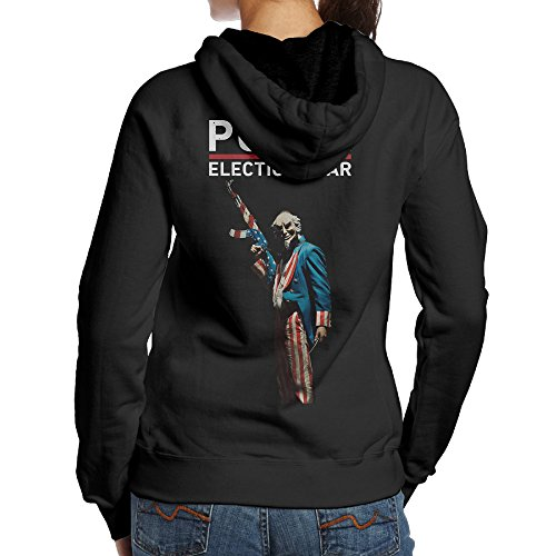 NVVM US Dystopian Action Horror Womens Pullover Drawstring Hoodie (Philadelphia Flyers Halloween Costumes)