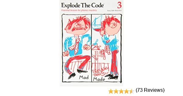 Workbook free phonics worksheets : Amazon.com: Explode the Code 3 (9780838814628): Nancy Hall, Rena ...