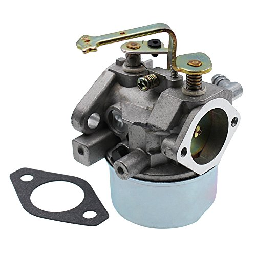 HUZTL Carburetor for Tecumseh 640260 640260A 640260B 640023 640051 640140 640152 640152A HM80 HM90 HM100 LH318XA LH358EA Carb Lawnmower Snow blower Oregon 50-655 Rotary 13154 by HUZTL