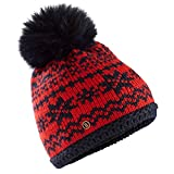 Bogner Fire + Ice Kaira Womens Hat - One Size/Fire Red