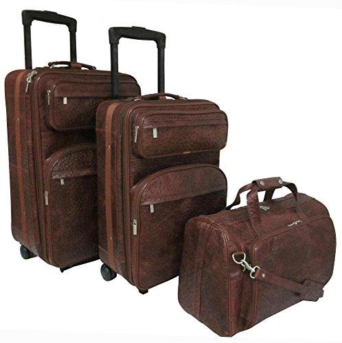 Leather 6 Piece Luggage Set - 4