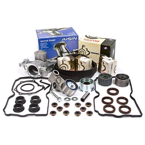Fits 99-05 Subaru Manual Transmission 2.5 SOHC 16V EJ251 EJ253 Timing Belt Kit AISIN Water Pump Valve Cover Gasket ()