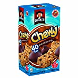 Cheap Quaker Chewy Chocolate Chip Granola Bars, Peanut Free 40-Count {Imported from Canada}