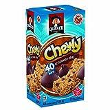 Barres de granola à chocolat Quaker Chewy, 40-Count