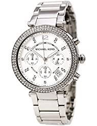 MICHAEL KORS PARKER Ladies Chrono Watch MK5353 New Box And Warranty