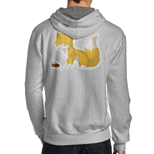 Show Time Men's Game Stamp Cat Classic Sweatshirt Ash XXL